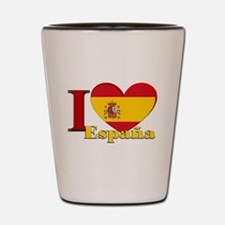 I love Espana - Spain Shot Glass