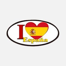 I love Espana - Spain Patches