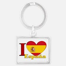 I love Espana - Spain Landscape Keychain