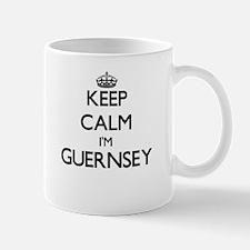Keep Calm I'm Guernsey Mugs