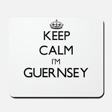 Keep Calm I'm Guernsey Mousepad