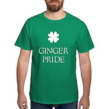 Ginger Pride With Shamrock T-Shirt