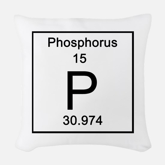 15. Phosphorus Woven Throw Pillow