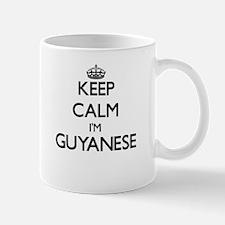 Keep Calm I'm Guyanese Mugs