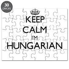 Keep Calm I'm Hungarian Puzzle