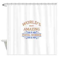 Postal Worker Shower Curtain