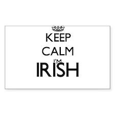 Keep Calm I'm Irish Decal