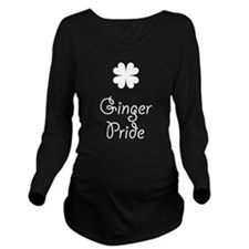 Ginger Pride With Sh Long Sleeve Maternity T-Shirt