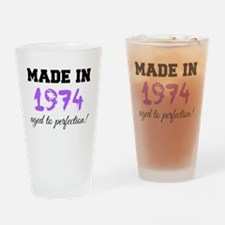 Cute 1974 Drinking Glass