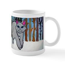 Snow Wolf Mugs