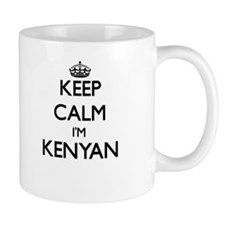 Keep Calm I'm Kenyan Mugs