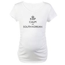 Keep Calm I'm South Korean Shirt