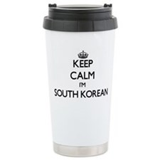 Keep Calm I'm South Kor Travel Mug