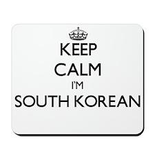 Keep Calm I'm South Korean Mousepad