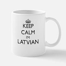 Keep Calm I'm Latvian Mugs