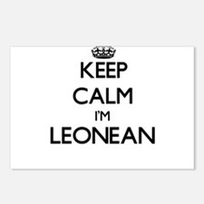 Keep Calm I'm Leonean Postcards (Package of 8)