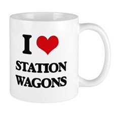 I love Station Wagons Mugs