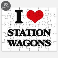 I love Station Wagons Puzzle