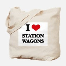 I love Station Wagons Tote Bag