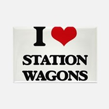 I love Station Wagons Magnets