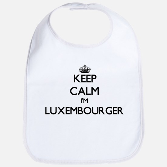 Keep Calm I'm Luxembourger Bib