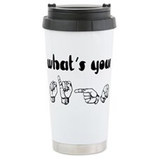 Cute Offbeat Travel Mug