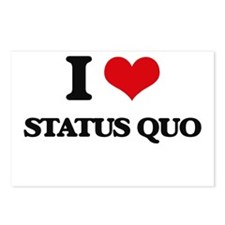I love Status Quo Postcards (Package of 8)