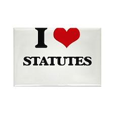 I love Statutes Magnets