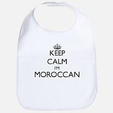 Keep Calm I'm Moroccan Bib