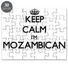 Keep Calm I'm Mozambican Puzzle