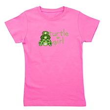 Unique Cartoon turtle Girl's Tee