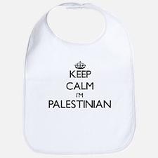 Keep Calm I'm Palestinian Bib