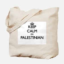 Keep Calm I'm Palestinian Tote Bag