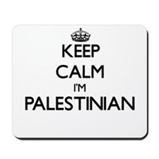 Keep Calm I'm Palestinian Mousepad