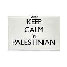 Keep Calm I'm Palestinian Magnets