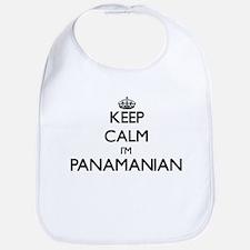 Keep Calm I'm Panamanian Bib
