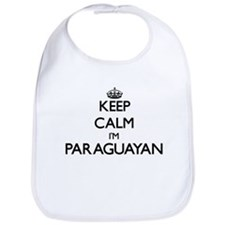 Keep Calm I'm Paraguayan Bib