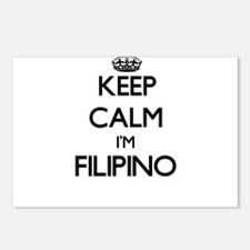 Keep Calm I'm Filipino Postcards (Package of 8)