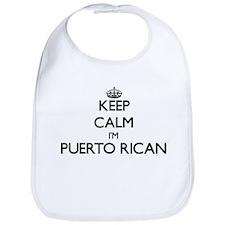 Keep Calm I'm Puerto Rican Bib