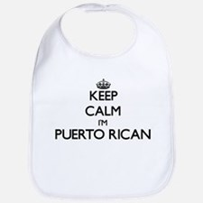 Keep Calm I'm Puerto Rican Bib
