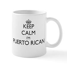 Keep Calm I'm Puerto Rican Mugs