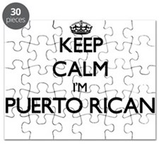 Keep Calm I'm Puerto Rican Puzzle