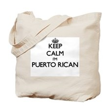 Keep Calm I'm Puerto Rican Tote Bag