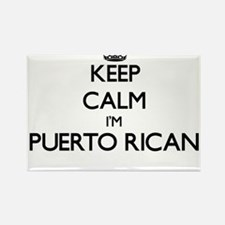 Keep Calm I'm Puerto Rican Magnets