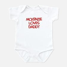Mckenzie Loves Daddy Onesie
