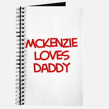 Mckenzie Loves Daddy Journal