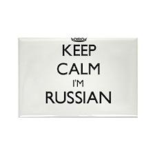 Keep Calm I'm Russian Magnets