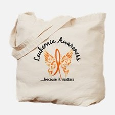 Leukemia Butterfly 6.1 Tote Bag