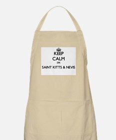 Keep Calm I'm Saint Kitts & Nevis Apron