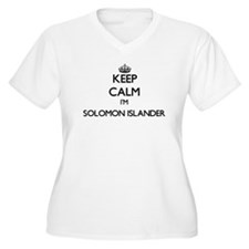 Keep Calm I'm Solomon Islander Plus Size T-Shirt